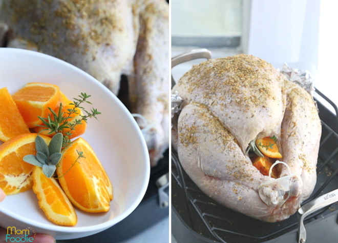 orange herb turkey