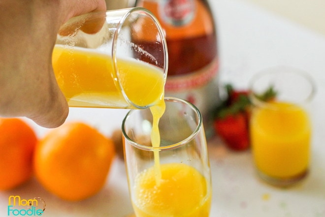 orange juice for mimosa
