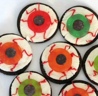 Oreo Eyeballs   Easy Halloween Party Treat