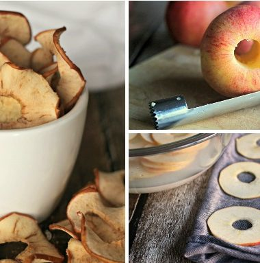 oven dried apples