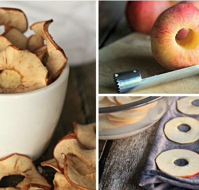 How to Make Oven Dried Apple Rings
