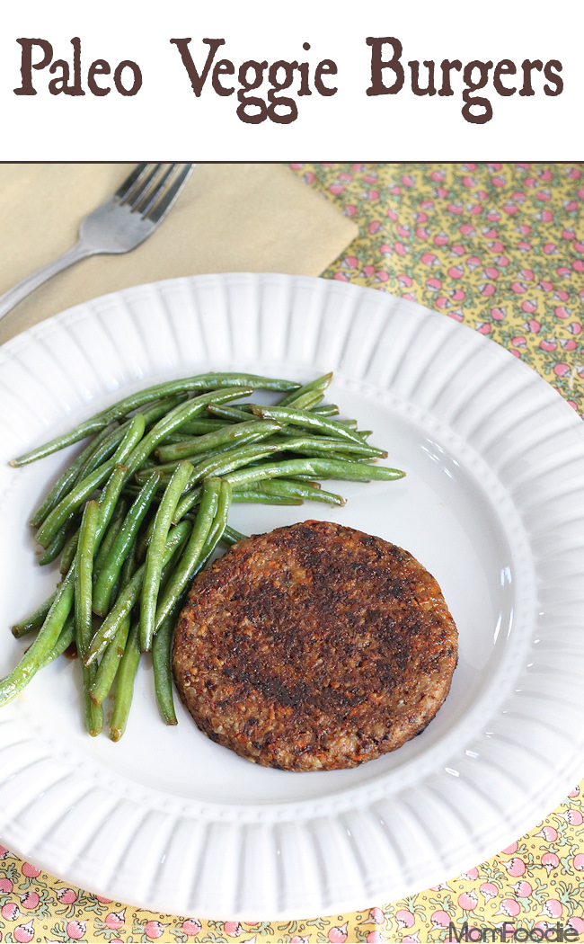 paleo veggie burgers