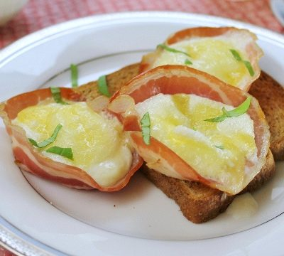 Pancetta Egg Cups : Italian Breakfast Recipe