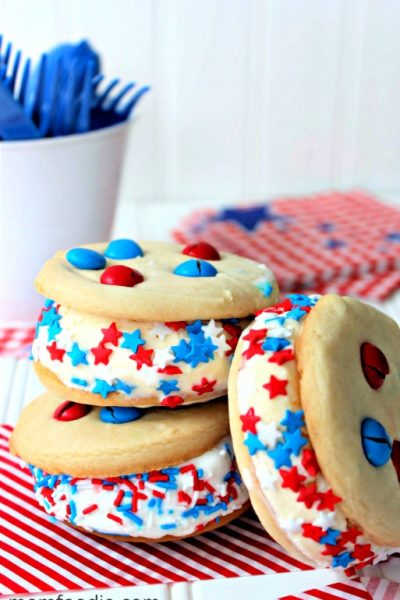 patriotic ice cream sandwich recipe