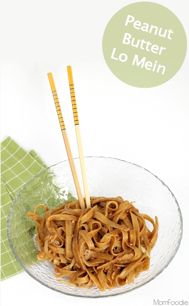 peanut butter lo mein recipe