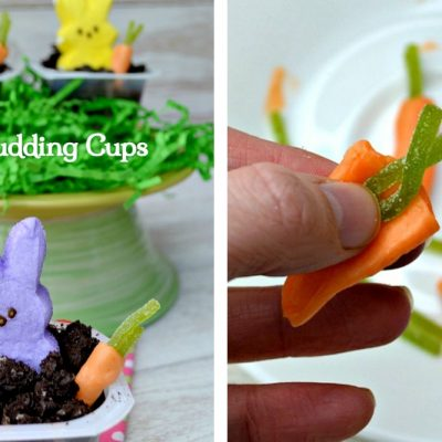 Peeps Pudding Cups: A Fun Easter Dessert to Make with the Kids