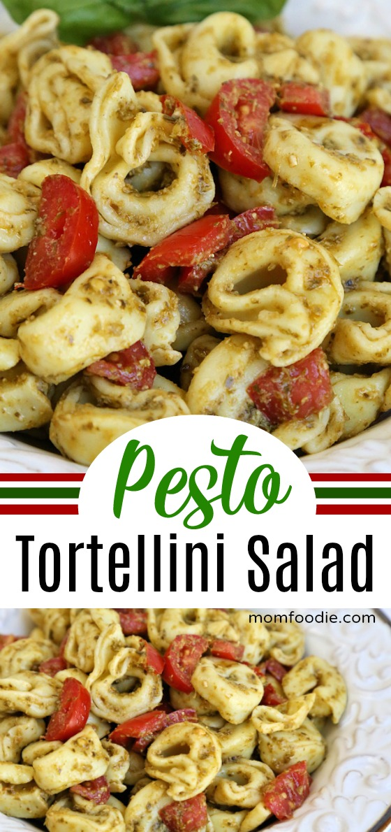 Pesto Tortellini Salad Recipe