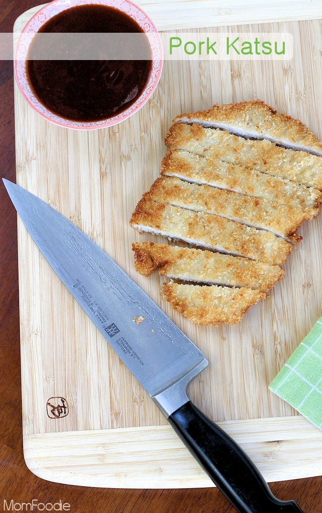 Pork Katsu Recipe : Easy Japanese Pork Tonkatsu Breaded Cutlets with Katsu sauce