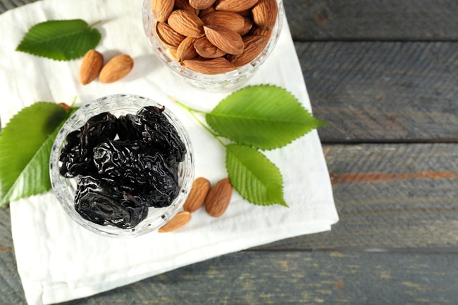 prunes and nuts for bone health