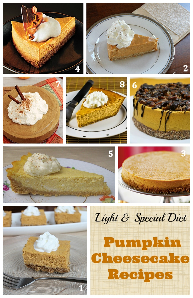 pumpkin cheesecake recipes