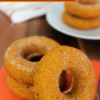 easy scratch pumpkin cake doughnuts
