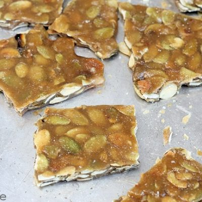 Pumpkin Seed Brittle: Candy Recipe