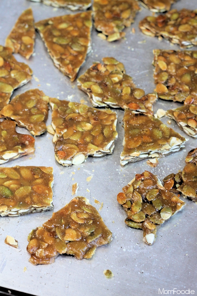 pumpkin seed brittle recipe