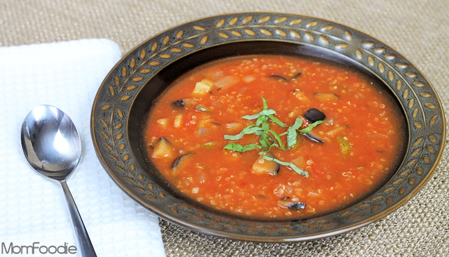 Ratatouille Quinoa Soup Recipe