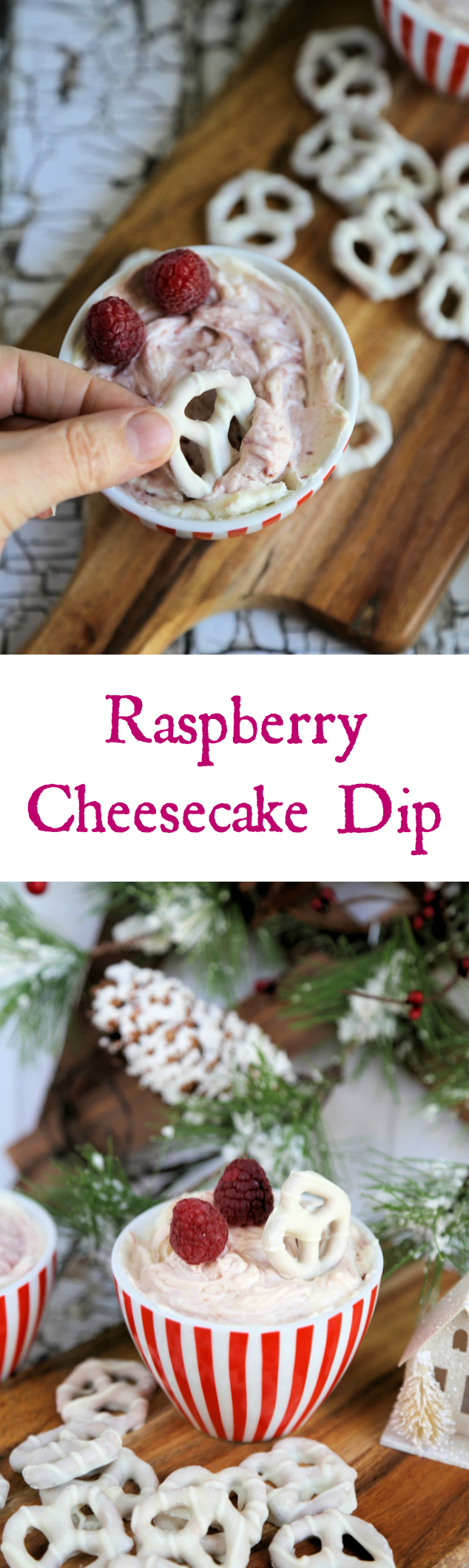 Raspberry Cheesecake Dip Recipe