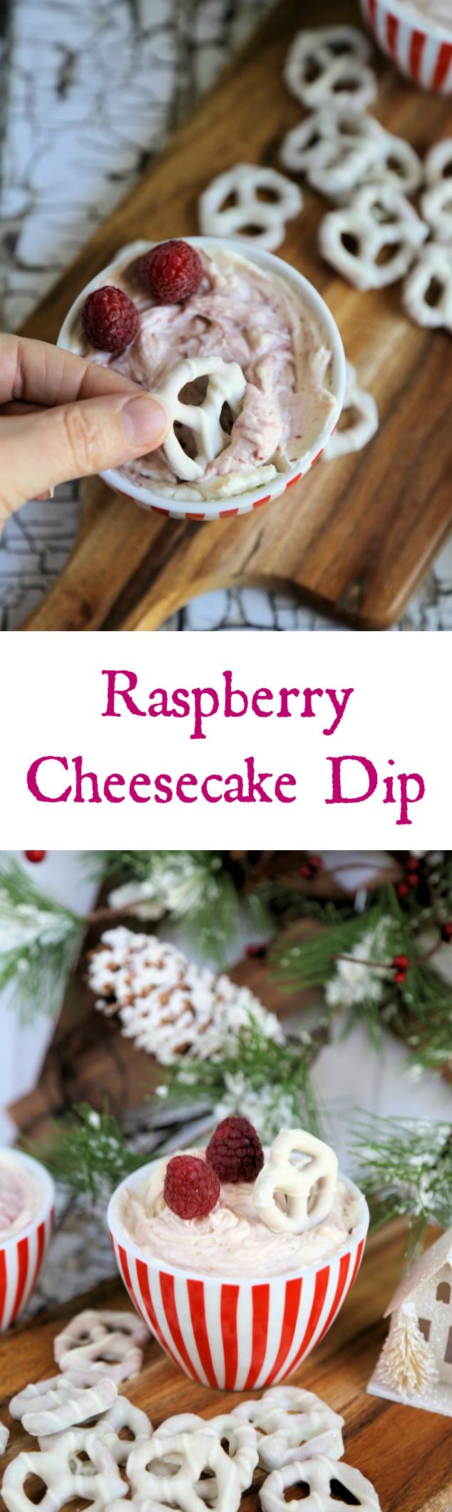 Raspberry Cheesecake Dip Recipe