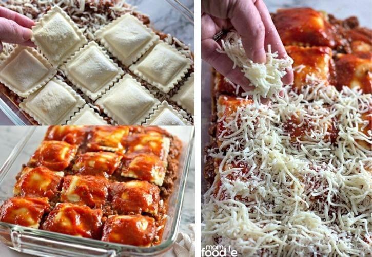 ravioli bake final layer