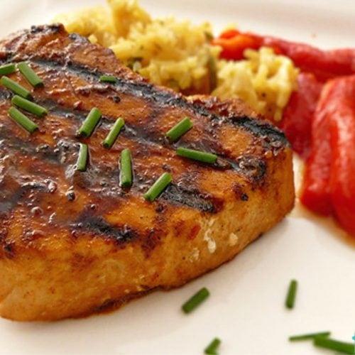 Red Curry Tuna Steak
