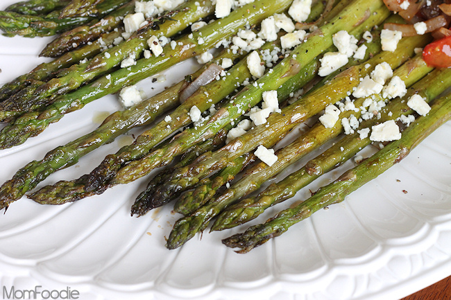 garlic and parmesan maple dijon roasted asparagus roasted asparagus ...