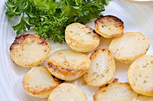 roasted turnips recipe