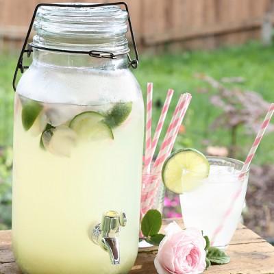 Rosewater Limeade Recipe
