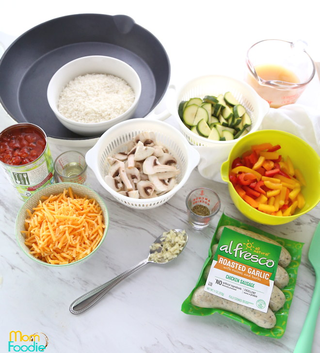sausage skillet ingredients