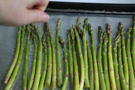 seasoning asparagus