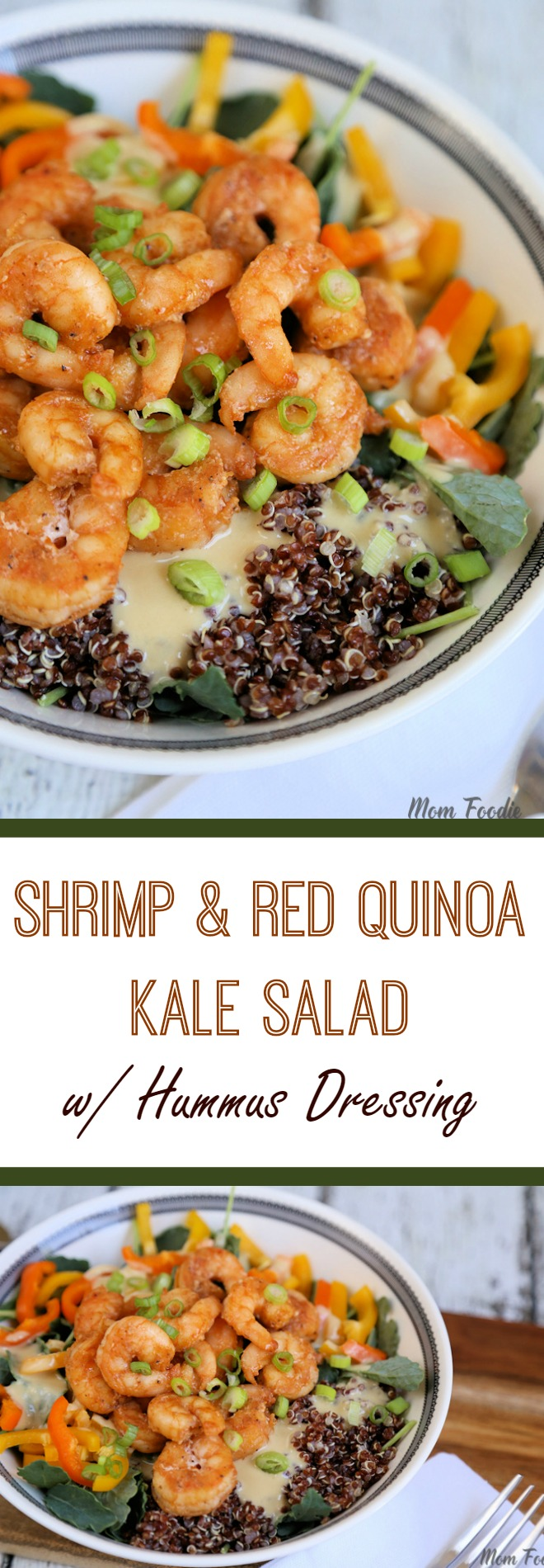 shrimp & Red Quinoa Salad