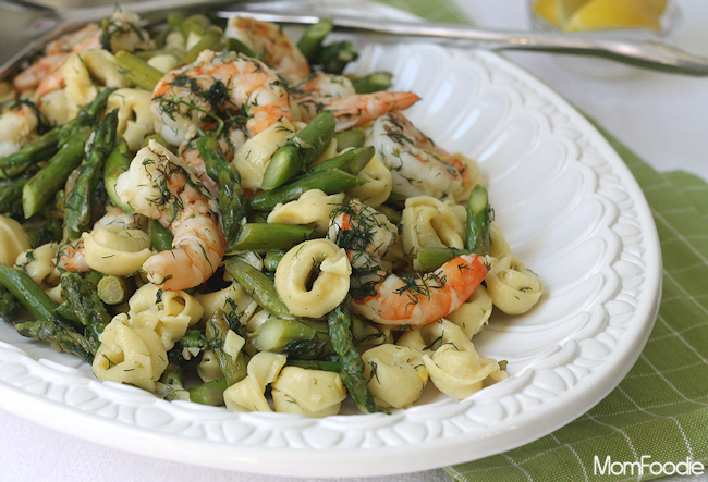 shrimp & asparagus scampi recipe
