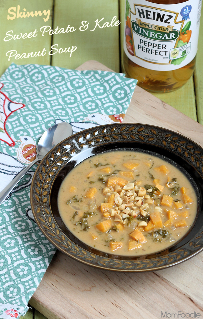 skinny sweet potato kale peanut soup