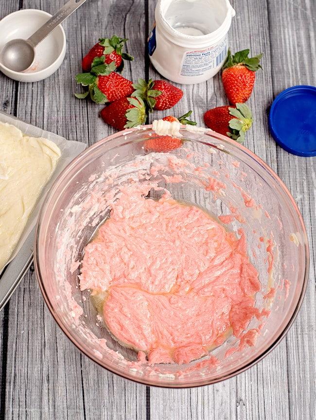 strawberry fudge mix