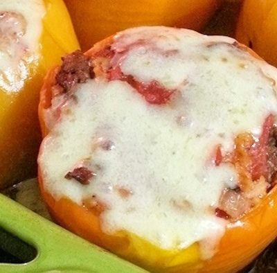 Cheesy Southwest Stuffed Peppers Recipe