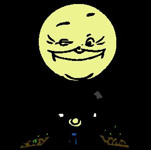 sun and gardener