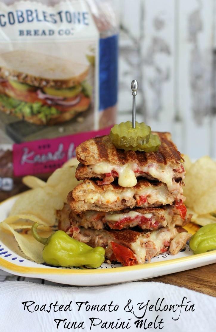 tomato tuna panini
