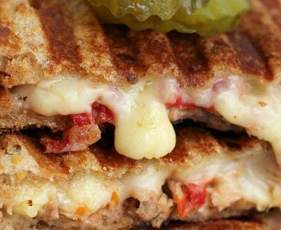Roasted Tomato & Yellowfin Tuna Panini Melt