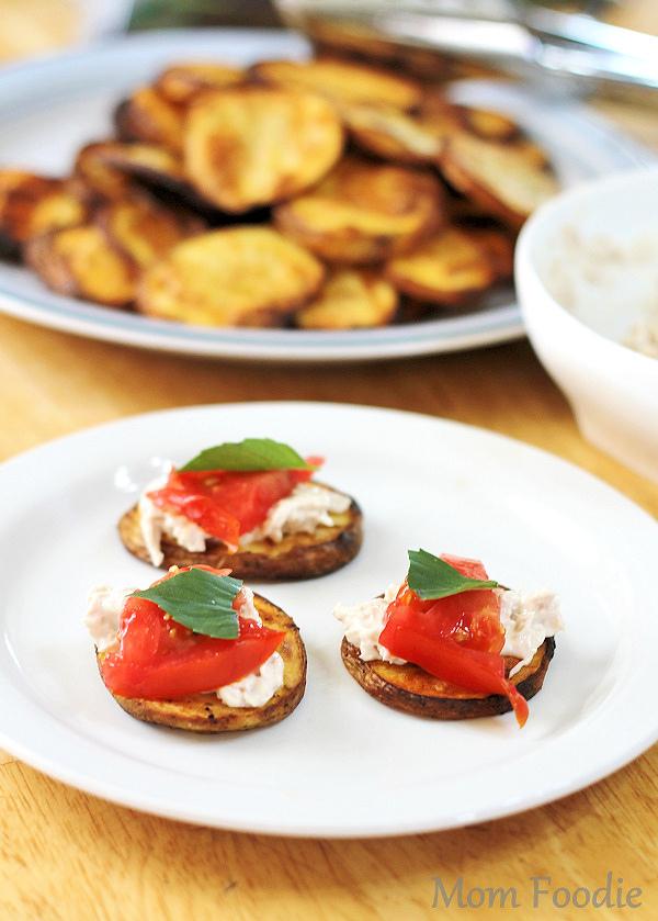 tuna-tomato-and-basil-grilled-potato-planks