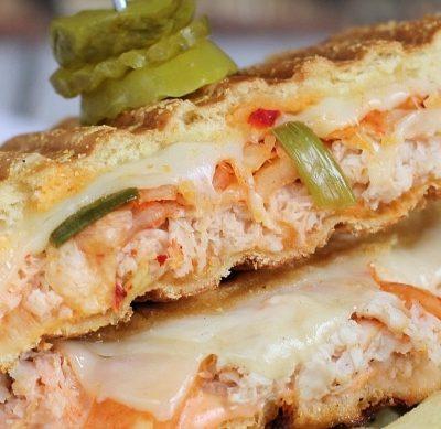 Kimchi Turkey Reuben Sandwich