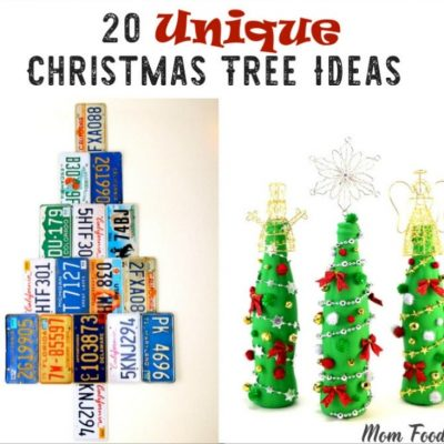 20 Unique Christmas Tree Ideas: DIY Holiday Trees