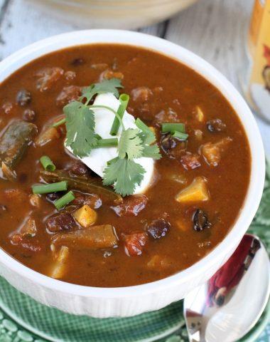 vegetarian chili recipe (grain free - vegan)